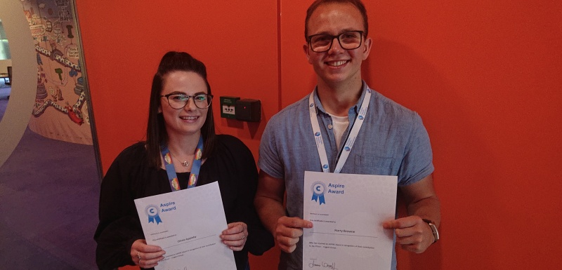 Cogent Skills & Pfizer Apprentices receive Aspire Awards for Work With Local School Pupils
