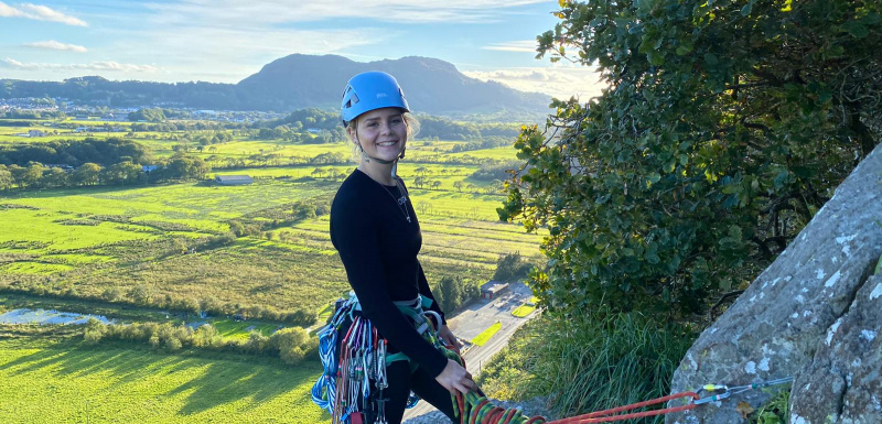Roxanne Wright; Apprentice of the year, full time scientist, adventurer and avid climber talks about her journey so far